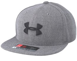Kids Huddle Steel Grey Snapback - Under Armour
