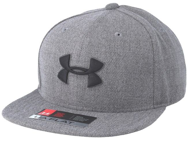 1feda84a2 Kids Huddle Steel Grey Snapback - Under Armour caps | Hatstore.co.uk