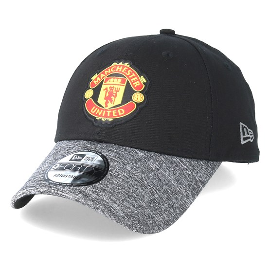 Keps Manchester United Marl Vize 9Forty Black Adjustable - New Era - Svart Reglerbar