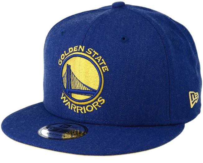 532aa5be884389 Golden State Warriors 9Fifty Team Heather Blue Snapback - New Era caps -  Hatstoreaustralia.com