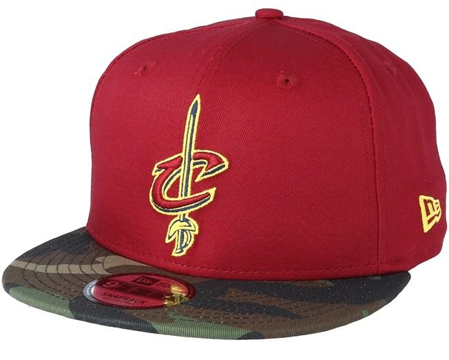 Cleveland Cavaliers Team 9Fifty Cardinal Camo Snapback - New Era - Start  Gorra - Hatstore 69bb8ee55f0
