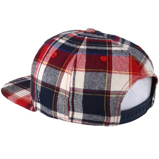 c9028ec8c70 Boston Red Sox 9Fifty Spring Plaid Snapback - New Era cap - Hatstore.co.in