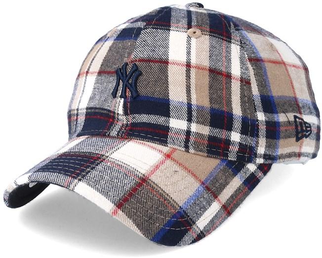 aa6b9fbea23 New York Yankees 9Forty Spring Plaid Adjustable - New Era caps ...