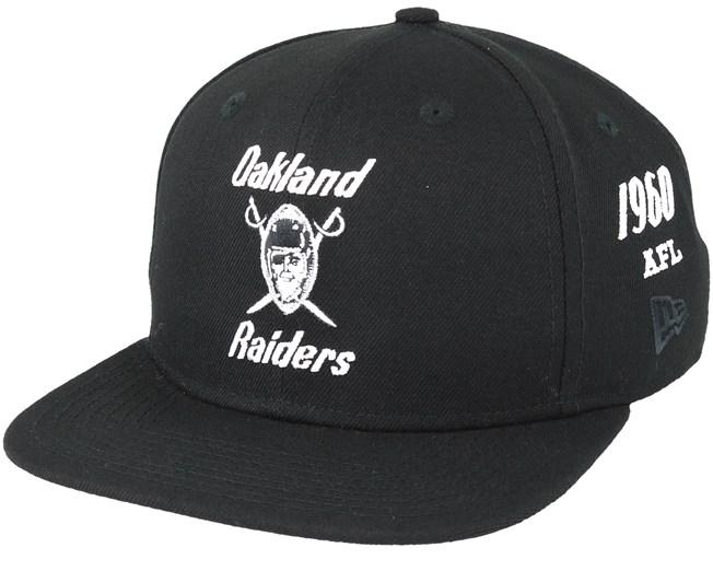 Oakland Raiders Silver And Black Attack 9Fifty Black Snapback - New Era  caps - Hatstoreworld.com 6e0360325ca