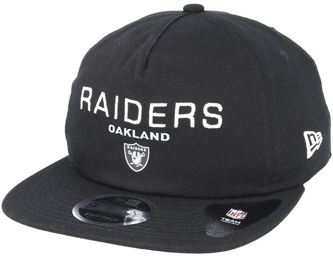 best service 6235b 794df Oakland Raiders Statement 9Fifty Black Snapback - New Era lippis -  Hatstore.fi