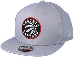 Toronto Raptors Classic 9Fifty Grey Snapback - New Era 9a6ba0a952a