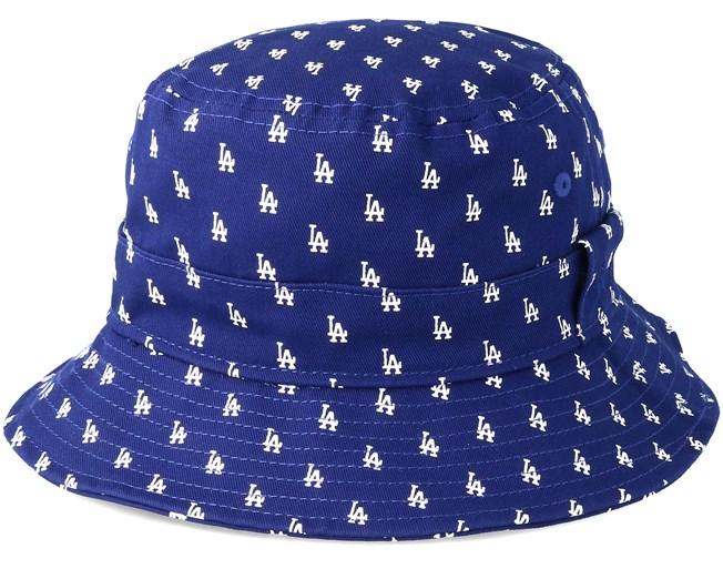 1a9fc9c9764 Los Angeles Dodgers Monogram Blue Bucket - New Era hats - Hatstoreworld.com