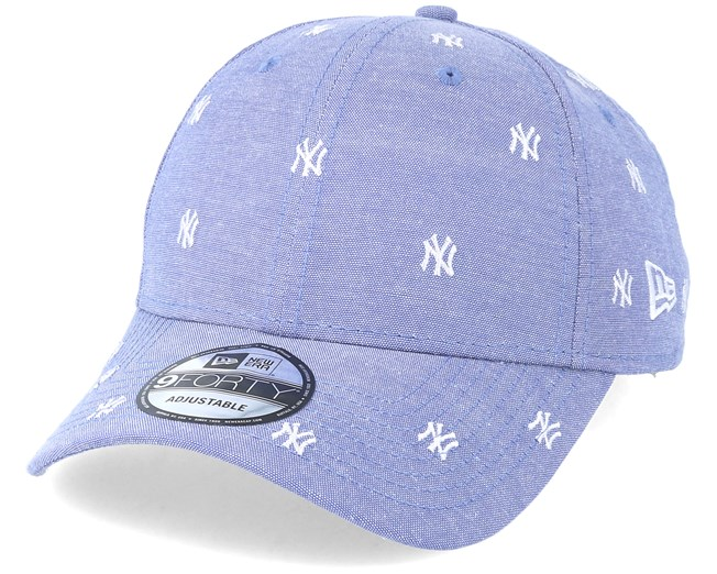 New York Yankees 9Forty Monogram Sky White Adjustable - New Era caps -  Hatstoreworld.com 75081d38d97