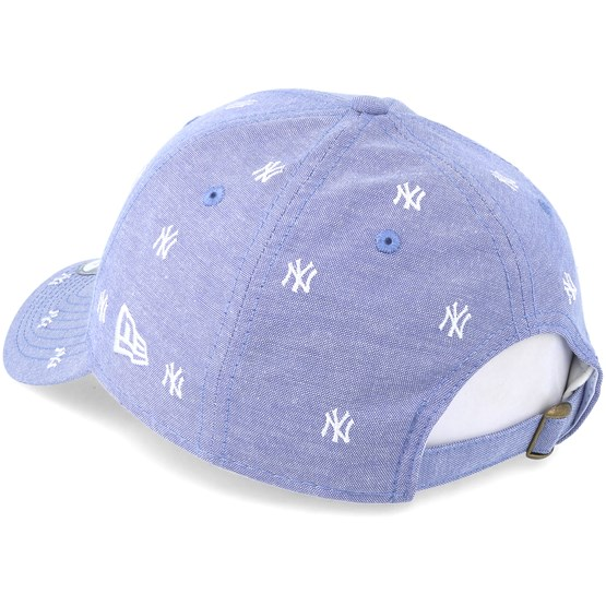 3377be602df New York Yankees 9Forty Monogram Sky White Adjustable - New Era caps -  Hatstoreworld.com