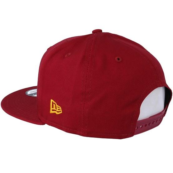 80a816bcb1d Los Angeles Dodgers League Essential 9Fifty Cardinal Gold Snapback - New  Era caps - Hatstoreworld.com