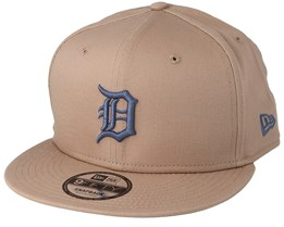 Detroit Tigers League Essential 9Fifty Camel Snapback - New Era