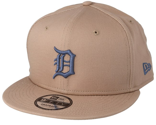 innovative design 6a552 3b021 Detroit Tigers League Essential 9Fifty Camel Snapback - New Era