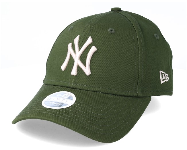 New York Yankees League Essential 9Forty Womens Green Adjustable - New Era  caps - Hatstoreworld.com 6539637b1