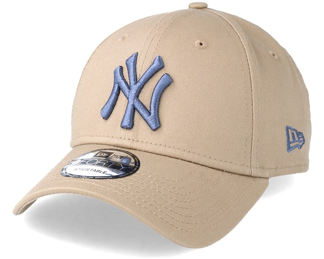 New York Yankees League Essential 9Forty Camel Adjustable - New Era caps -  Hatstoreworld.com 5fb55a1faaf