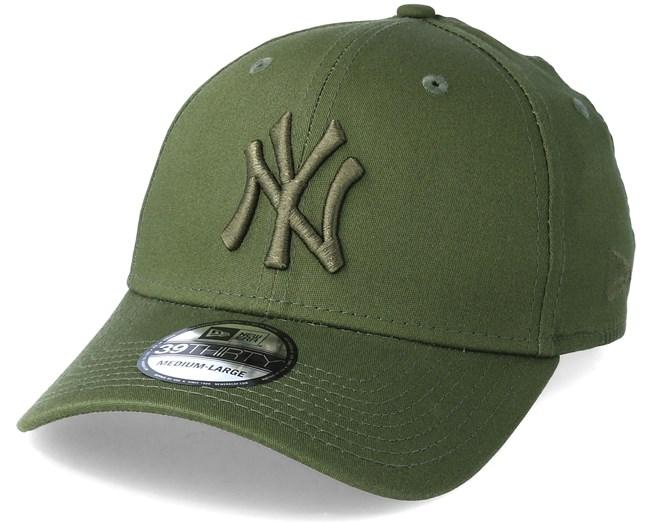 New York Yankees League Essential 39Thirty Olive Flexfit - New Era caps -  Hatstorecanada.com 0ebd5d46a9a4