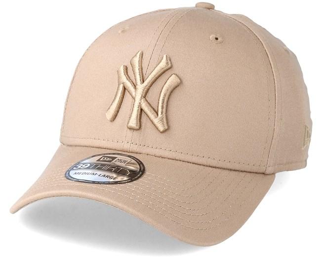 352d644b7cc3 New York Yankees League Essential 39Thirty Camel Flexfit - New Era ...