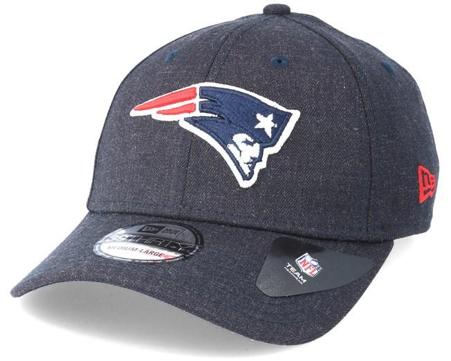 New England Patriots 39Thirty Team Heather Navy Flexfit - New Era cap -  Hatstore.co.in 623e08bff