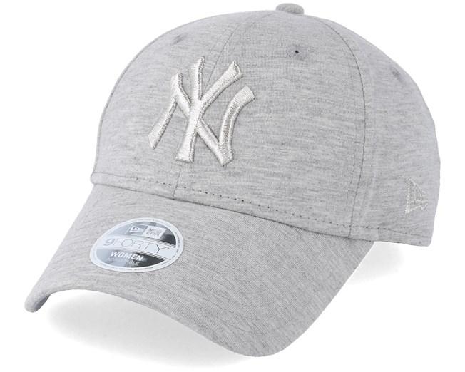 New York Yankees Essential Jursey 9Forty Heather Grey - New Era - Start  Cappellino - Hatstore a3b7f4755e76