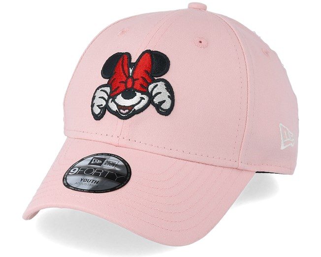 f5442602a49 Kids Disney Xpress 9Forty Minnie Mouse Pink Adjustable - New Era cap -  Hatstore.co.in