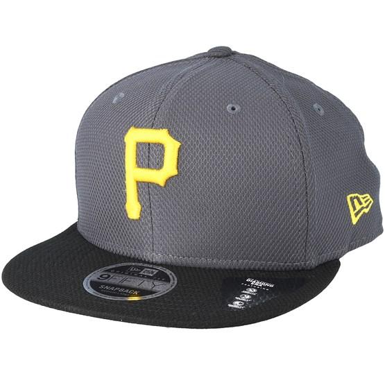 Pittsburgh Pirates Diamond Pop 9Fifty Grey Snapback - New Era - Start  Cappellino - Hatstore e2f376675b27
