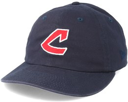 Cleveland indians Low Profile 9Fifty Navy Strapback - New Era