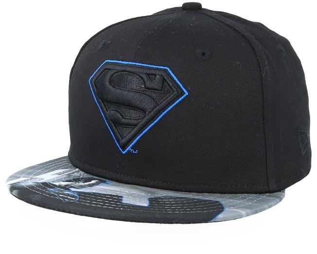 b8e4890d6f477 Kids Superman 9Fifty Black Snapback - New Era caps - Hatstoreworld.com