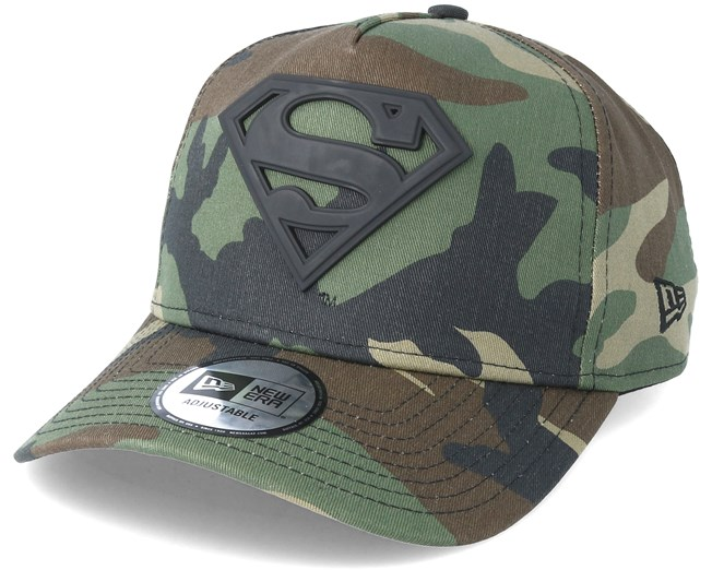Superman Hero Army Grey Camo Adjustable - New Era - Start Boné - Hatstore 052bb647512