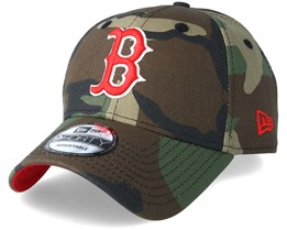 Boston Red Sox Team 9Forty Green Camo Adjustable - New Era