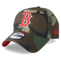 8801a02a80e Boston Red Sox Team 9Forty Green Camo Adjustable - New Era caps -  Hatstoreaustralia.com