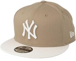 New York Yankees 9Fifty Camel Snapback - New Era