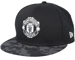 a0684338e8d Manchester United Reflect Camo 9Fifty Black Snapback - New Era