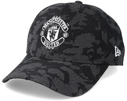 Manchester United Reflect Camo 9Fifty Black Adjustable - New Era