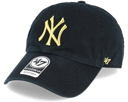 New York Yankees Metallic Black/Gold Loughlin Adjustable - 47 Brand