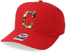 Cleveland Indians Camfill Red/Camo Adjustable - 47 Brand