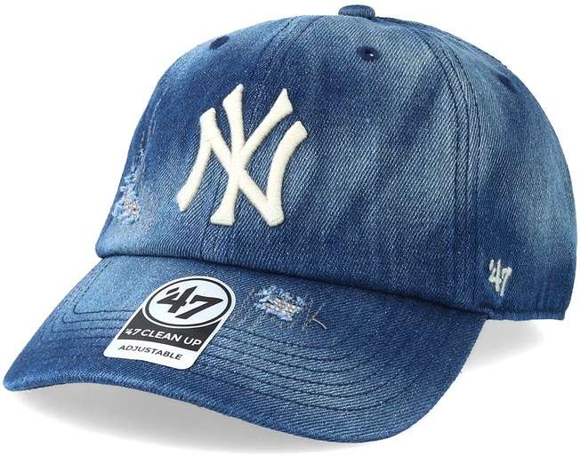new arrival be8aa acacb New York Yankees Loughlin Navy White Adjustable - 47 Brand