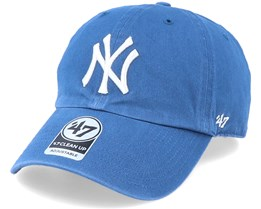 New York Yankees Clean Up Timber Blue/White Adjustable - 47 Brand