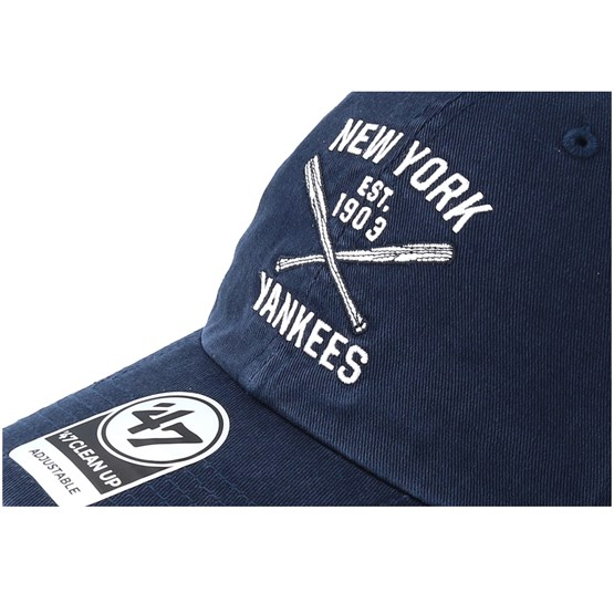 d6049622540d New York Yankees Axis Clean Up Adjustable - 47 Brand