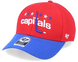 Washington Capitals Mvp Two Tone Vintage Red/Blue Adjustable - 47 Brand