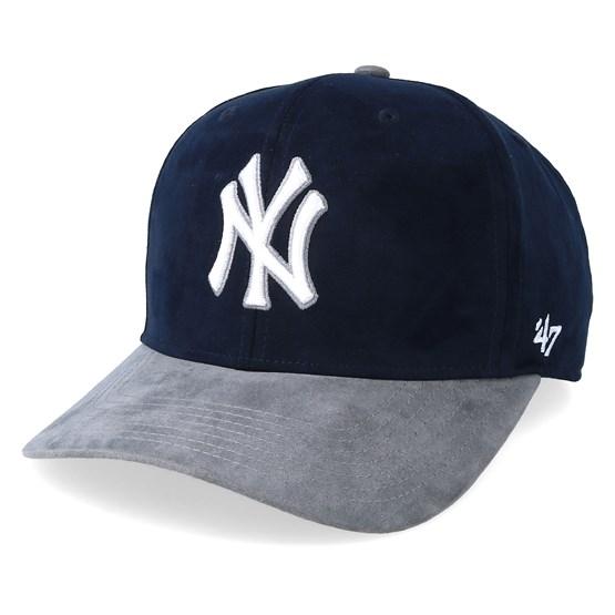 7679861d6 New York Yankees Ultrabasic Two Tone Navy/Grey Adjustable - 47 Brand