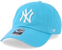 40576dc8f97 New York Yankees Clean Up Caribbean Blue Adjustable - 47 Brand