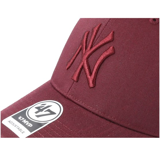 9b4639e8a New York Yankees Branson Dark Maroon Trucker - 47 Brand