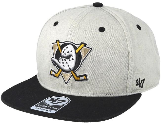 a4371c0b846ed Anaheim Ducks Clean Up Gray Cement Snapback - 47 Brand caps ...