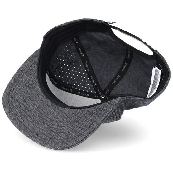 Dri-Fit Staple Charcoal Snapback - Hurley caps - Hatstoreworld.com 775f24abb07