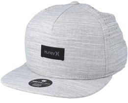 Dri-Fit Staple Grey Snapback - Hurley