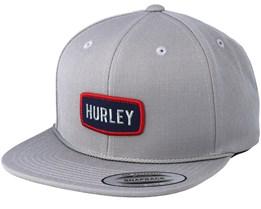 Schuster Grey Snapback - Hurley