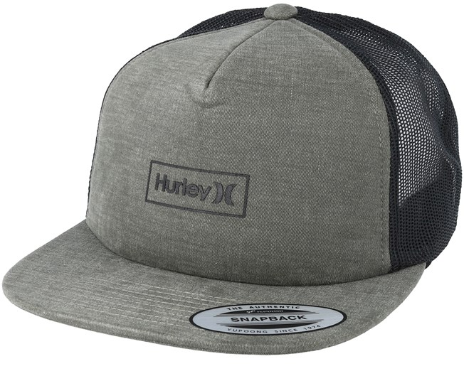 Locked Olive Black Trucker - Hurley cap - Hatstore.co.in 7c4c9d5b81c