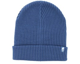 Waffle Shady Blue Beanie - The North Face
