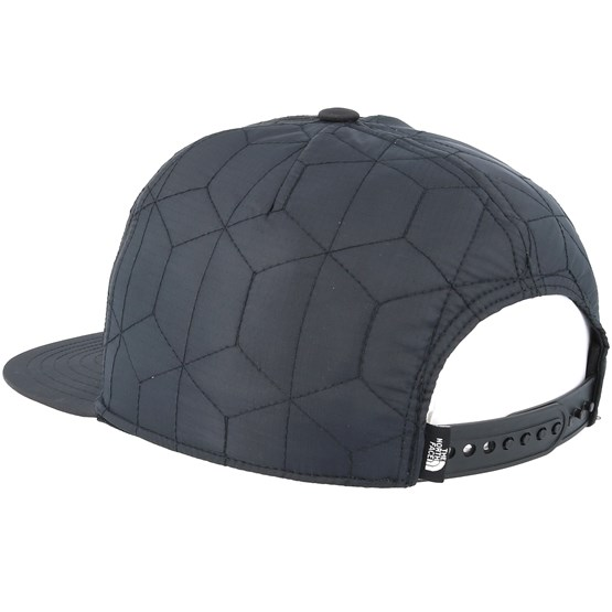 0e3c0fe2c Quilted Cap Black Snapback - The North Face