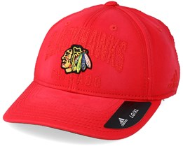 Chicago Blackhawks Heavy Washed Cotton Red Flexfit - Adidas