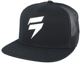 Corp Hat Black/Black Trucker - Shift